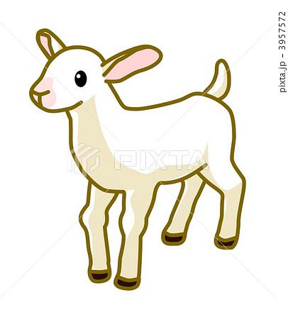 子ヤギのイラスト素材 3957572 Pixta