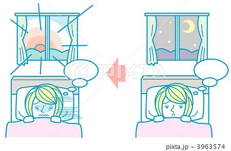 不眠症の女性 3963574