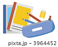 筆記用具 筆記道具 文房具のイラスト 3964452
