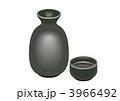 日本酒 徳利 清酒のイラスト 3966492