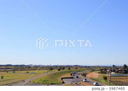 茨城県取手市から見える富士山 3967460