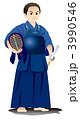 剣士 子供 男性のイラスト 3990546