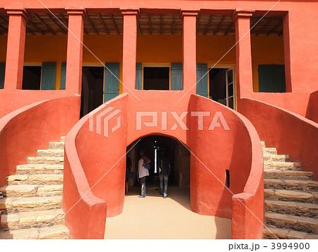 セネガル・ゴレ島の奴隷収容所 3994900