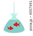 きんぎょ キンギョ 金魚のイラスト 4007491