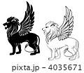 Heraldic lion 4035671