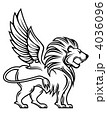 Heraldic lion 4036096