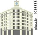 銀座交差点和光ビル 4036888