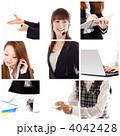 ビジネスウーマン オフィスワーク ビジネスの写真 4042428