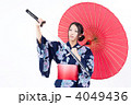 浴衣 日本刀 着物の写真 4049436