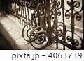 Wrought Iron Fence Detail 4063739