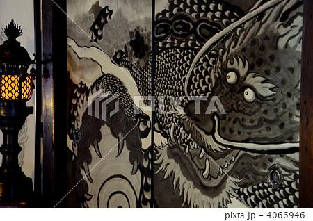 泉涌寺雲龍院の襖絵「双龍風雷図」 4066946