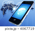 スマートフォン スマホ 電話のイラスト 4067719