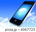 スマートフォン スマホ ネットワークのイラスト 4067725