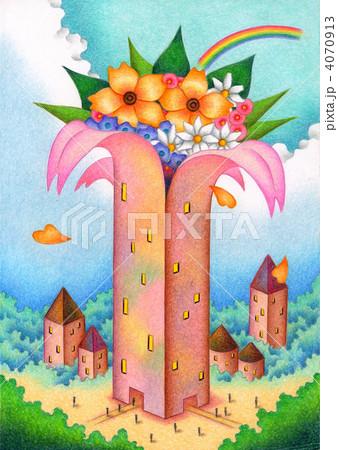 フラワー・タワー 4070913