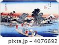 浮世絵 東海道五十三次 川崎 4076692