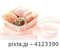 デザート ミニドーナツ お菓子の写真 4123390