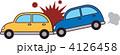玉突き事故 追突 玉突きのイラスト 4126458