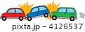 玉突き事故 追突 衝突のイラスト 4126537