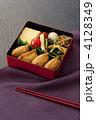弁当 お弁当 お重の写真 4128349