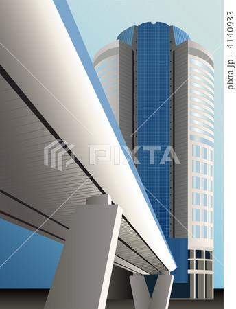 vector bridge building 4140933