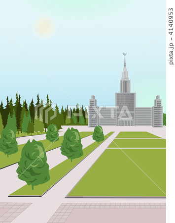 moscow university vector 4140953