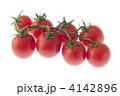 夏野菜 みずみずしい 中玉トマトの写真 4142896