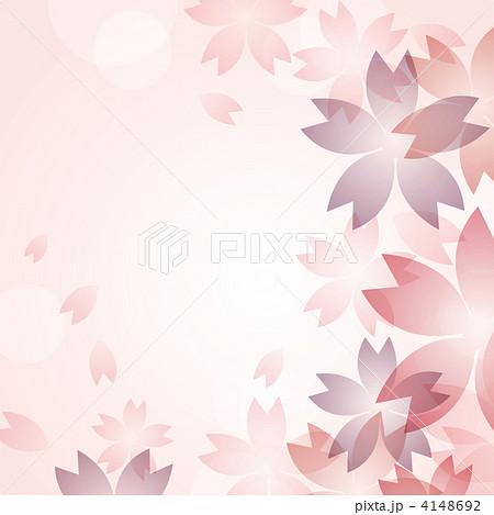 カード お別れ メッセージカード : ベクター 桜 花のイラスト素材 ...