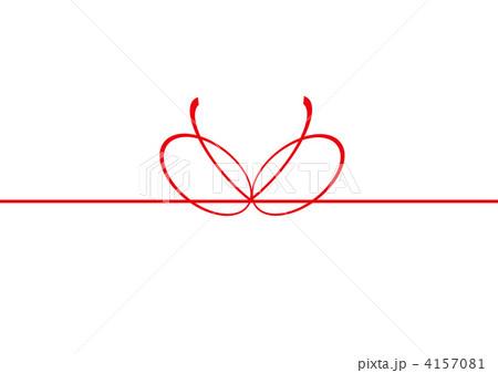 熨斗 のしのイラスト素材 4157081 Pixta