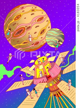惑星探査 4183054