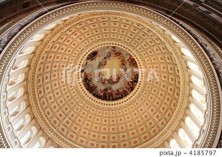 アメリカ合衆国議会議事堂内 天井画 4185797