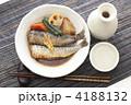 鰯 煮付け 煮魚の写真 4188132