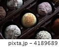 トリュフチョコ ボンボンショコラ ボンボンの写真 4189689