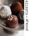 トリュフチョコ チョコレート ボンボンの写真 4189729