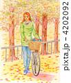 サイクリングロード 4202092