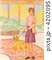 愛犬とともに 4202095
