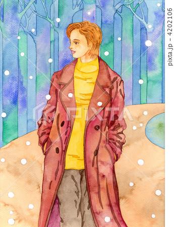 冬の散歩道 4202106