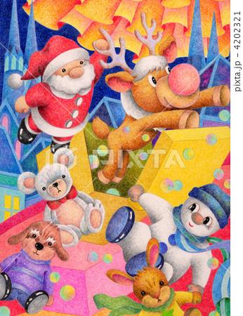 賑やかなクリスマス 4202321