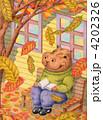 カバ 黄葉 落ち葉のイラスト 4202326