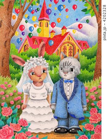 結婚式 4202328