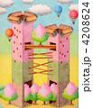ツインタワー タワー 塔のイラスト 4208624