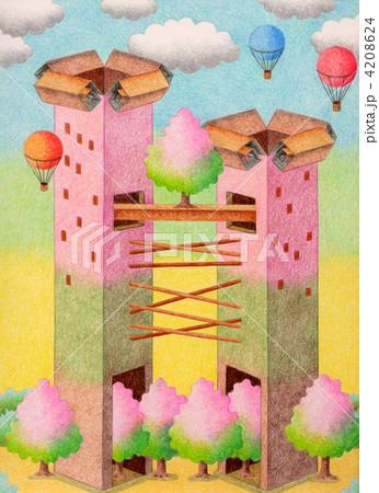桜の塔 4208624