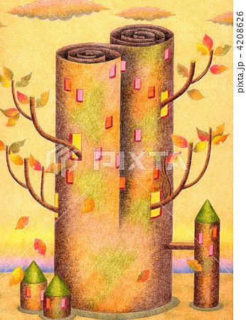 黄葉の塔 4208626