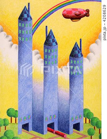 三つの不思議な塔 4208629