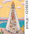タワー 建物 塔のイラスト 4208630