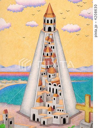 塔の中の街 4208630