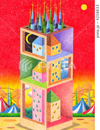 異次元タワー 4208633