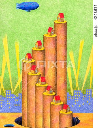 丸太の塔 4208635