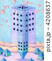 タワー 建物 塔のイラスト 4208637