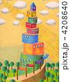 タワー 建物 塔のイラスト 4208640