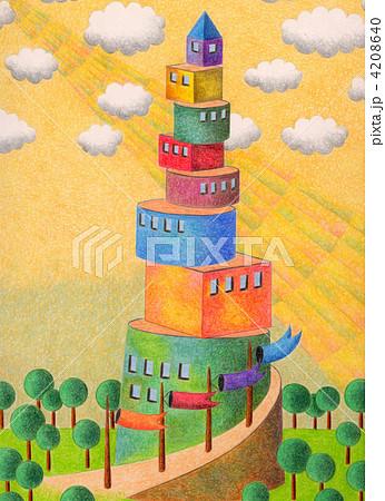 積み木の塔 4208640